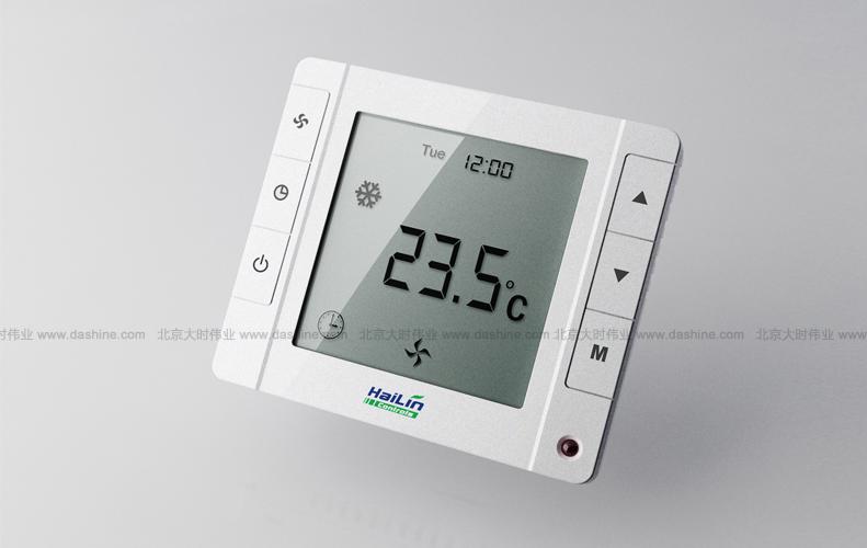 温控器海林86盒c 温控采暖 设计 结构设计 外观设计 工业设计 产品