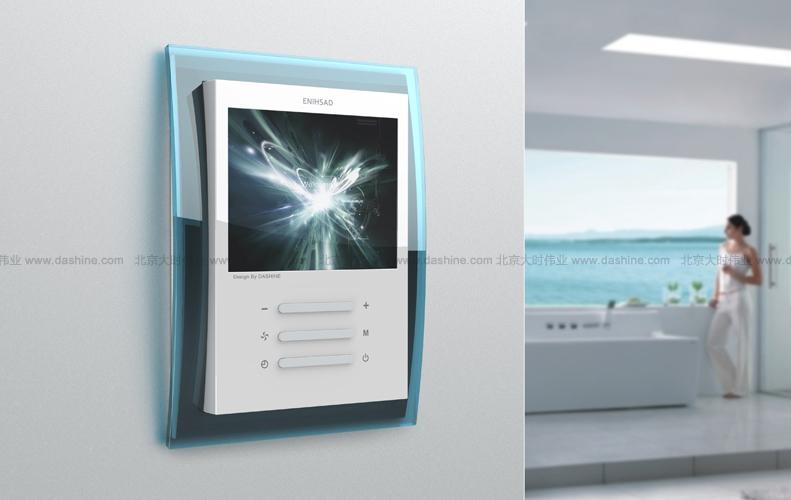 温控器外观设计-温控采暖行业-工业设计-北京大时伟业;